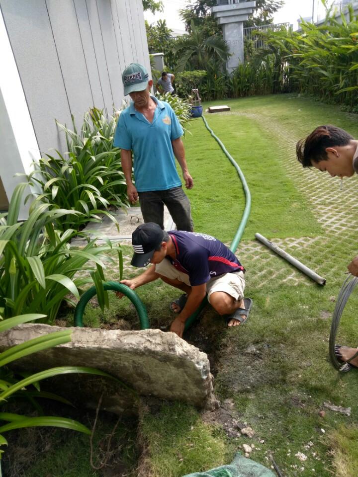 Hút hầm cầu chuyên nghiệp tại huyện Tầm Vu